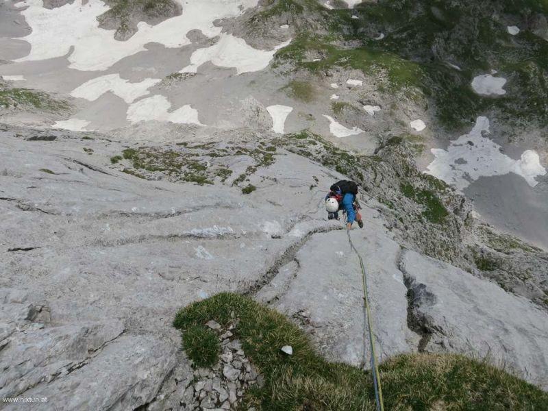 Zauberlehrling 6+, Hochschwab Südwand