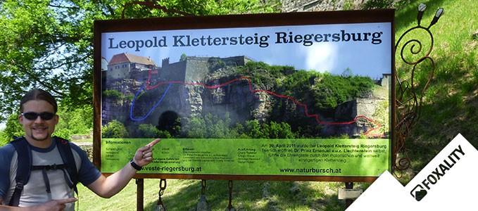 Leopold Klettersteig Riegersburg