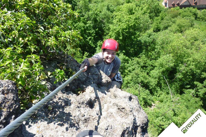 Klettersteig Riegersburg : Leopold klettersteig riegersburg climbing plus
