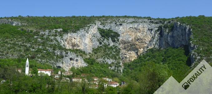 Klettern in Osp - Slowenien