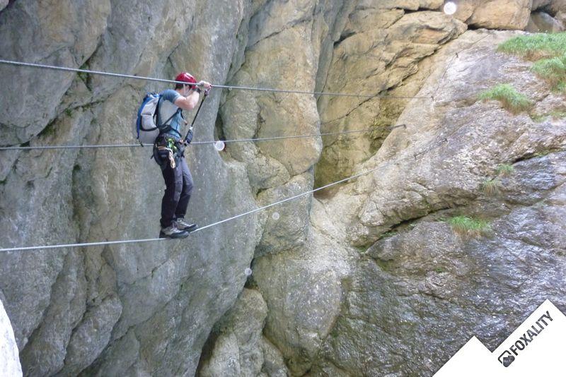 Klettersteig Osttirol : Klettersteig galitzenklamm lienz climbing plus
