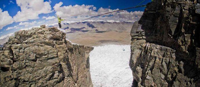 Muztagata - ein Highlineprojekt auf 5000 m Seehöhe