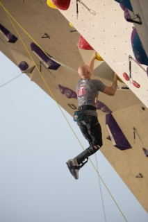 """""""Freude am Klettern und meine persönlichen Limits finden!"""" Daniel Kontsch ist Mitglied im Österreichischen Paraclimbing-Nationalkader"""