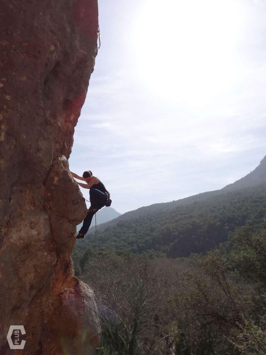 Klettern in Geyikbayiri bei Antalya - Türkei