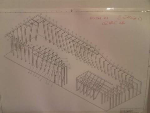 Baustellenbesuch - Bloc House - Erweiterung