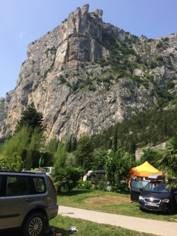 Ausblick vom Camping Zoo