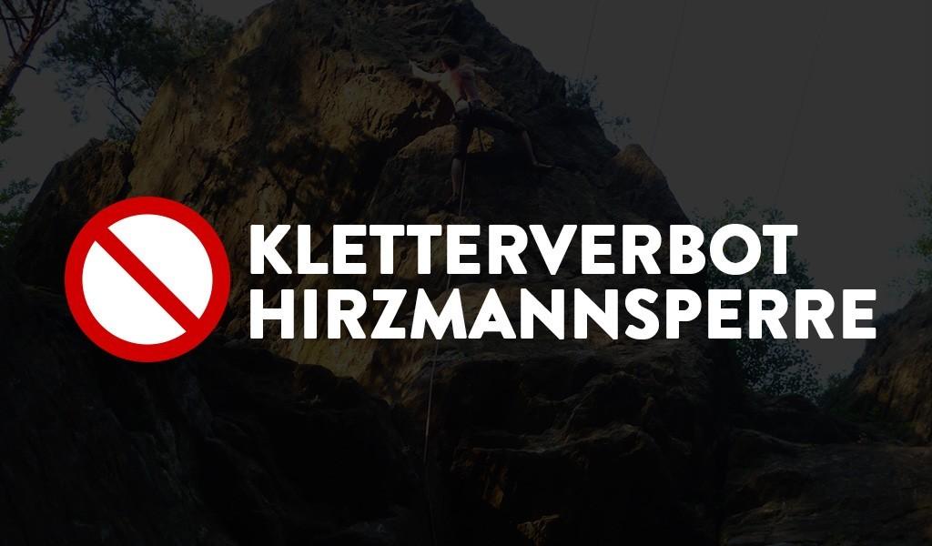 kletterverbot hirzmannsperre