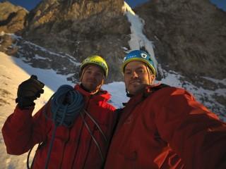 First Ascent: Matrix Eisfall, Hochschwab - Michael Maili, Patrick Gollnhuber