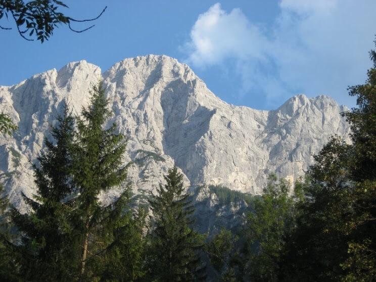 Peternschartenkopf (5-) im Xeis - Ein Nordwand-Gustostückerl über den Höllersteig