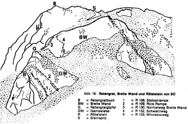 unveröffentlichte 4. Auflage des Kletterführers - Grazer Bergland
