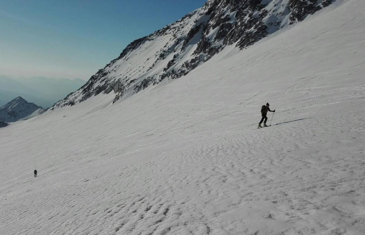 Maltatal: Skitourenschuhe statt Kletetrschuhe