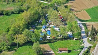 Camping in Osp - Slowenien