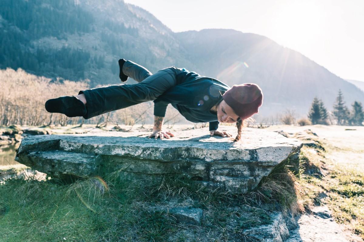 Besser klettern mit Yoga