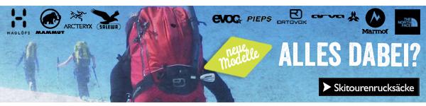 Skitourenrucksäcke - alles dabei!