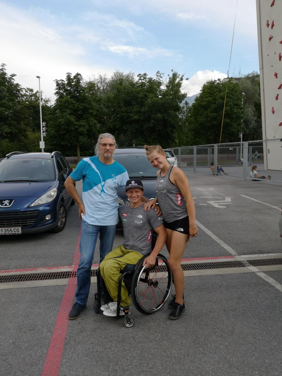 Trainingslager Kletterhalle Innsbruck Juli 2019 05.07.2019