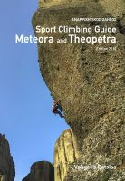 (c) Meteora and Theopetra sport climbing guide, Bookcover 2017
