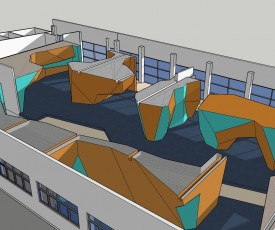 (c) Bigwall Bouldering - a glimpse of the new gym