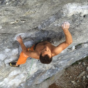 "Stefan Winter in ""Madur"" 6c+"