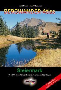 Buchcover Bergwander-Atlas Steiermark 2017