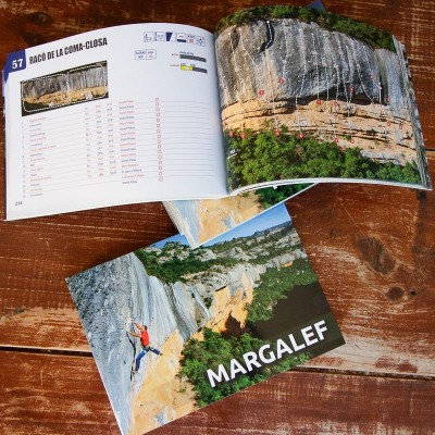 Margalef climbing guidebook