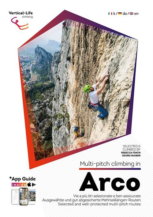 Multi-pitch climbing in Arco