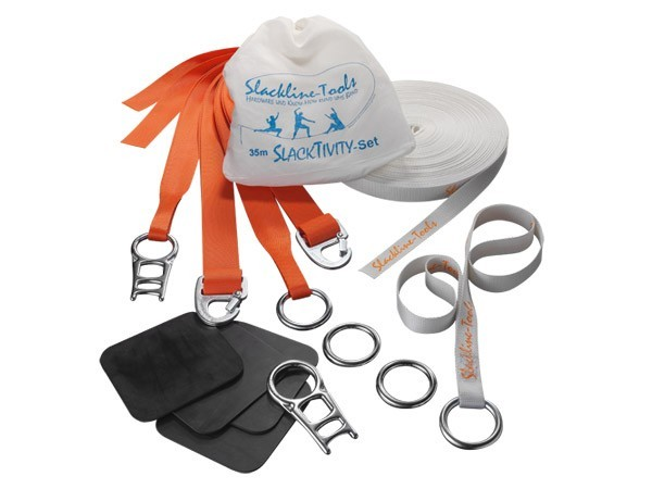 Slackline-Tools - SlackTivity 35m Set - Praxistest